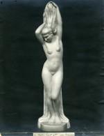 France Paris Art Deco Atelier Cadran Création De Trinque Le Matin Ancienne Photo 1930 - Objects