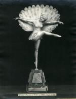 France Paris Art Deco Atelier Cadran Création De Pellier Danseuse Etoile Ancienne Photo 1930 - Objects