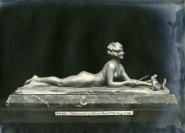 France Paris Art Deco Atelier Cadran Création De Varnier Charmeuse Ancienne Photo 1930 - Objects