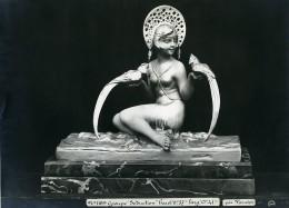 France Paris Art Deco Atelier Cadran Création De Varnier Groupe Seduction Ancienne Photo 1930 - Objects