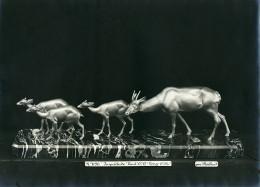 France Paris Art Deco Atelier Cadran Création De Irenée Rochard Inquietude Ancienne Photo 1930 - Objects