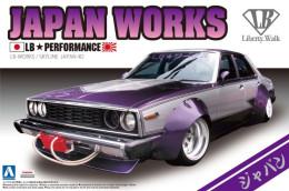 Nissan Skyline : Japan Works 1/24 (  Aoshima ) - Cars