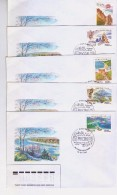 1997 Russia Stamps Regions Of The Russian Federation FDC - 1992-.... Fédération
