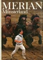 """MERIAN Magazin """"Münsterland"""" 09/1986 Münster Warendorf Sythen Gescher Vischering Hengstparade Deutschland Germany NRW - Reise & Fun"""