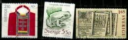 Suéde Scott N°1733.1727.1451..oblitérés - Schweden
