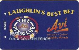 AVI Resort & Casino Laughlin, NV - The Pit Club Slot Card - Casino Cards