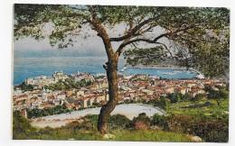 MONTE CARLO - N° 779 - VUE PRISE DE LA ROUTE DE LA TURBIE - CPA NON VOYAGEE - Monte-Carlo