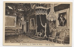 MONACO - N° 56 - LE PALAIS DU PRINCE - SALLE DU TRONE - CPA NON VOYAGEE - Palais Princier