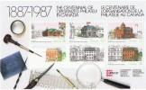 1987  CAPEX  Heritage Post Offices   Souvenir Sheet  Sc 1125A  MNH ** - 1952-.... Règne D'Elizabeth II