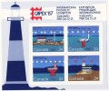 1987  Lighthouses CAPEX 87 Souvenir Sheet  Sc 1066b  MNH ** - 1952-.... Règne D'Elizabeth II