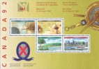 1992  Montreal  Souveir Sheet  Sc 1407a  MNH ** - 1952-.... Reign Of Elizabeth II
