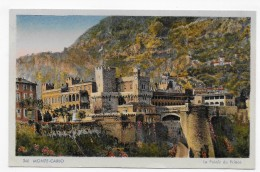 MONTE CARLO - N° 346 - LE PALAIS DU PRINCE - CPA NON VOYAGEE - Prince's Palace
