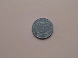 Malagasy 1978 - 20 Ariary - KM 14a ( Uncleaned Coin / For Grade, Please See Photo ) !! - Madagascar