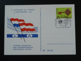 Carte Journée Du Timbre Luxembourg 1968 N° 4169 - Tarjetas Conmemorativas