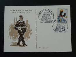 Carte Journée Du Timbre Luxembourg 1969 N° 4739 - Tarjetas Conmemorativas