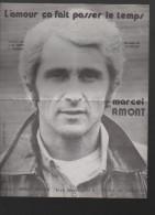Partition (petit Format) Marcel AMONT L'amour ça Fait Passe Le Temps (PPP3146) - Scores & Partitions