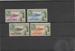 ANTIGUA  Année 1962 N°Y/T : 125/128** - Antigua Et Barbuda (1981-...)