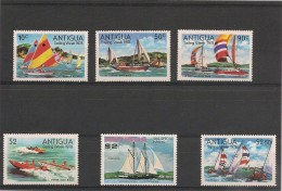 ANTIGUA  Voiliers Années 1977/78 N°Y/T : 35** ( Issu De Bloc)-449**-491/94 ** - Antigua Et Barbuda (1981-...)