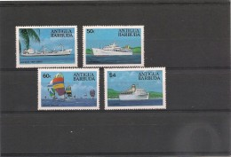 ANTIGUA  Bateaux Année 1984 N°Y/T : 735/38 ** - Antigua Et Barbuda (1981-...)