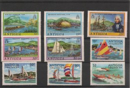 ANTIGUA  Bateaux Années 1975/78 N°Y/T : 361/65-491/94- ** - Antigua Et Barbuda (1981-...)