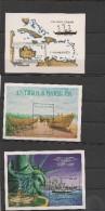 ANTIGUA  Blocs Années 1985/86 N°Y/T : 88-100-109 ** - Antigua Et Barbuda (1981-...)