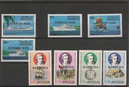 BARBUDA   Années 1978/79 N°Y/T : 381/84-445/48 ** - Antigua Et Barbuda (1981-...)