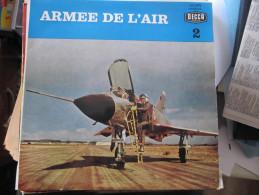DISQUE VINYLE 25 CM -  ARMEE DE L'AIR  -  DECCA - - Special Formats