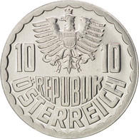 Autriche, 10 Groschen, 1984, Vienna, FDC, Aluminium, KM:2878 - Autriche