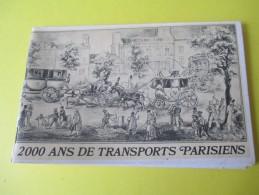 """Transports/Paris/ """"2000 Ans De Transports Parisiens /Sélection Du Reader's Digest/DUNLOP/1971   LIV76 - Culture"""