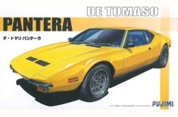 De Tomaso Pantera 1/24 (  Fujimi ) - Cars