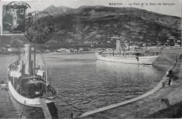 Le Port Et La Baie De Garavan - Menton