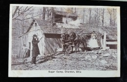 CPA Etats Unis, Ohio, Chardon, Sugar Camp, RARE! - Non Classés
