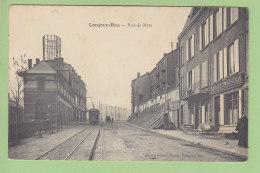 LONGWY BAS : Tramway, Café De L'Industrie, Rue De Metz . 2 Scans. Edition Picard - Longwy