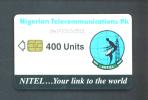 NIGERIA  - Chip Phonecard/400 Units Reverse Satellite Dish