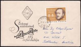 "Hungary 1966, FDC Cover ""István Széchenyi"" W./special Postmark ""Debrecen"", Ref.bbzg - FDC"