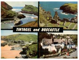 (130) UK - Boscastle & Tintagel - England