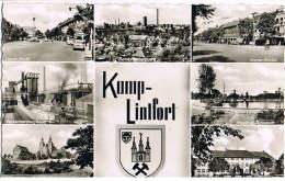 AK Kamp-Lintfort, 7 Ansichten 1960 - Deutschland