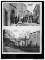 D  03 10 (ct LIMOUX ) CASTELRENG, Le Faubourg, école Et Mairie - Autres Communes