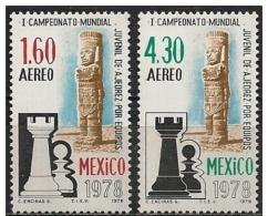 Messico/Mexique/Mexico: Mondiale Di Scacchi, Championnat Du Monde D'échecs, World Chess Championship - Scacchi