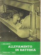 ALLEVAMENTO IN BATTERIA U.BASSO EDIZ. ENCIA UDINE 1954 - Medicina, Biologia, Chimica