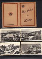 Petit Pochoir Avec 12 Petites Cartes Postales Neuves ( 11 X 6,5 ) . - Dieppe