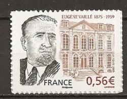 2009 - N° 369a** - Eugène Vaillé Côté Droit Du Visage Manquant - France