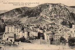 04 ENTREVAUX  Vue Générale Et Le Fort - France