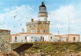 Postcard - Kinnaird Head Lighthouse, Fraserburgh. C1 - Lighthouses