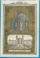 Holycard  Handcolored   O.L.V.  Van  Einsiedeln  1852 - Images Religieuses