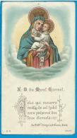 Holycard      B.Kuehlen  M.Gladbach  Notre Dame Du Mont Carmel - Santini