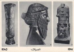 Iraq - Irak - Archéologie - Vase - Bronze Head Akkadian King - God Of Hatra - Editeur Orient Mercure Cologne - Iraq