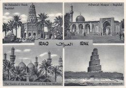 Iraq - Irak - Baghdad - Mosque Mosquée - Tombs - Editeur Orient Mercure Cologne - Iraq