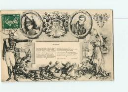 CALUIRE - Superbe Sonnet Maréchal De CASTELLANE - Illustrateur Neuilly  - TBE - 2 Scans - Caluire Et Cuire