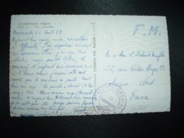 CP EN FM OBL.MEC.1-9-1958 POSTE AUX ARMEES AFN + SP 88.230 - Marcophilie (Lettres)